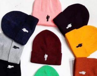کلاه های بافت با نه اکریل ترک تک فروشی و عمده فروشی