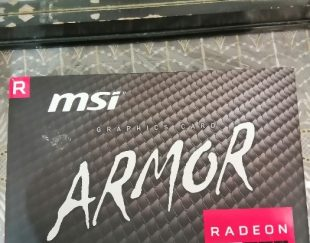 کارت گرافیک msi armor rx 580 8gb