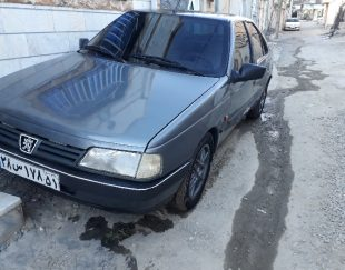 فروش پژو ۴۰۵ خاکستری مدل ۹۱