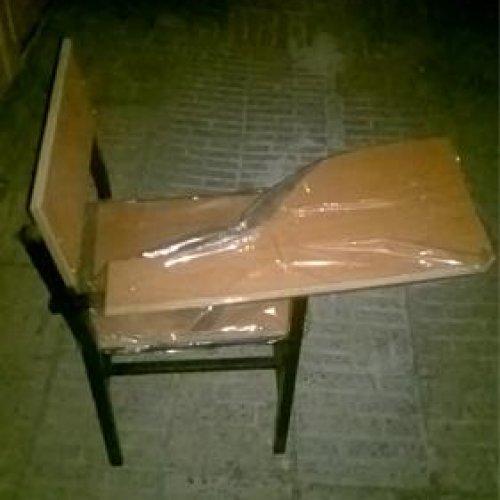 صندلی دسته دار MDF