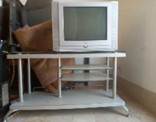 تلوزیون با میز