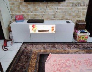 میز تلویزیون هایگلاس ایرانی درحدنو