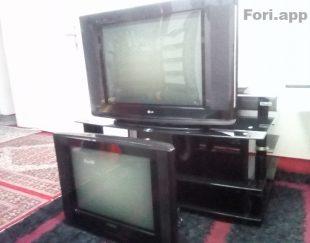 تلویزیون ۲۹LG و ۲۱SAMSUNG با میز