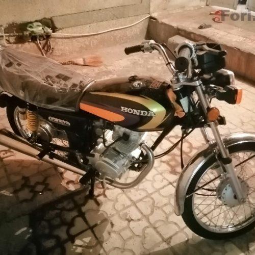 موتور ۱۲۵ تیوا مدل ۸۹