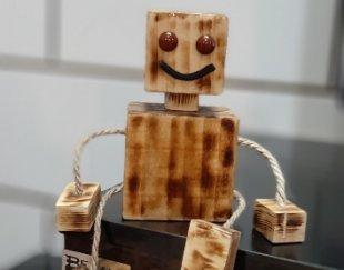 عروسک چوبی مناسب  برای  هدیه  و  یادگاری