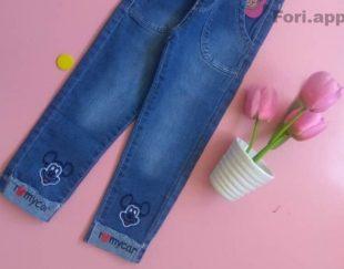 فروش لباس بچگانه (شلوار جین)
