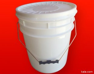 فروش سطل پلاستیکی ، سطل رنگ ، سطل چسب ، سبد میوه