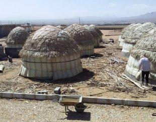 آلاچیق سازان سازان سنتی چوبی نخل خرما