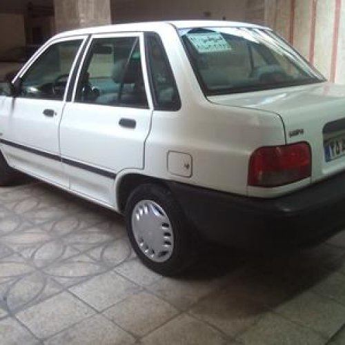 یکدستگاه پراید ۱۳۱ SE مدل ۱۳۹۲
