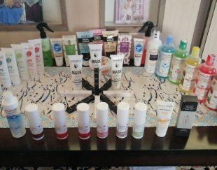 انواع لوازم آرایشی بهداشتی و مراقبتی پوست و مو