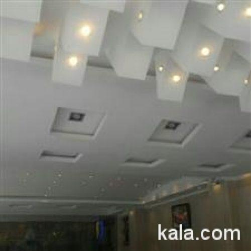 گچ کاری ودکوراسیون داخلی ساختمان
