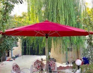 سایه بان چتری تاشو قابل حمل با قطر ۳ متر