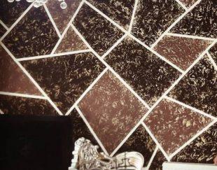 انجام طرح کاغذدیواری بارنگ  متری ۵هزاررتومن بامصالح