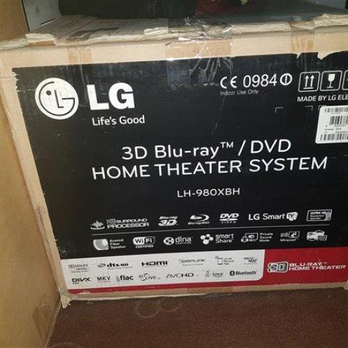 تلویزیون ال ای دی هوشمند ۶۰ اینچ الجی و سینمای خانگی