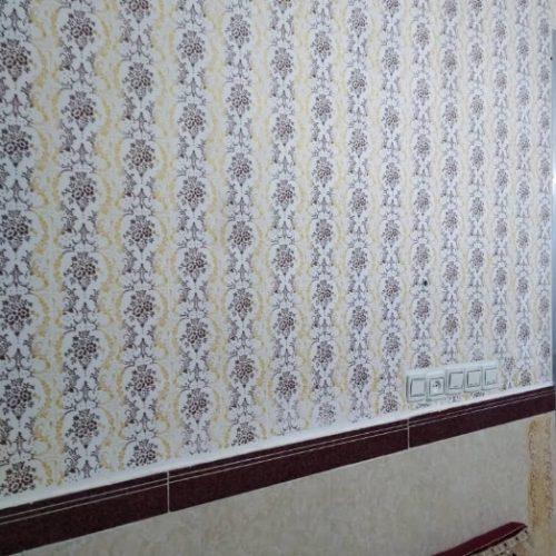 نقاشی ساختمان و طرح کاغذدیواری