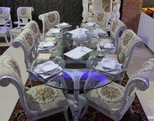 مبلمان سلطنتی به همراه میز ناهارخوری