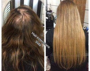 اکستنشن لیزر موی صد در صد طبیعی