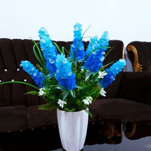 گلدان گل کریستالی طرح اقاقی