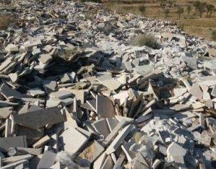 لاشه سنگ ساختمانی از هر نوع سنگ