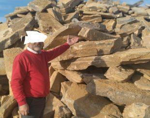 فروش معدن سنگ ۴۰۰هکتارسمنان چندین ملیاردسنگ دپوشده اماده سند