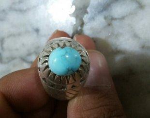 انگشتر دستساز فیروزه نیشابور اصل