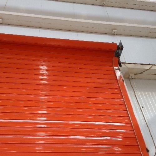 کرکره برقی درب شیشه ای اتوماتیک برقی
