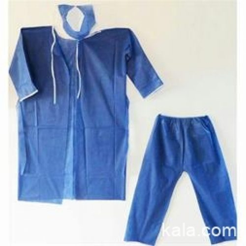 تولید انواع البسه بیمارستانی ، گان کلاه شلوار