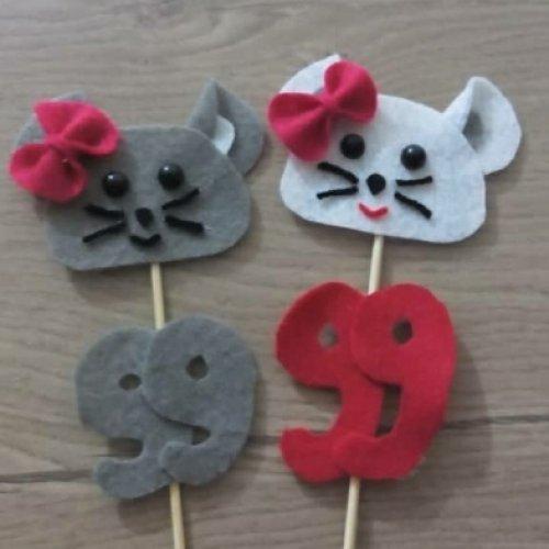 موش های نمدی برای هفت سین
