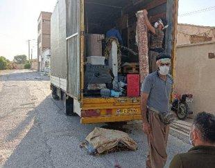 شرت باربری حمل و نقل اسباب و اثاثیه استان بوشهر