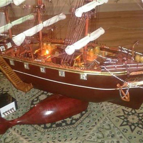 مدل واقعی کشتی قدیمی کاتی سارک (۱/۱۰۰۰۰)