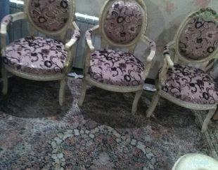 حراج فوری میز نهار خوری شش نفره و مبلمان نه نفره سلطنتی