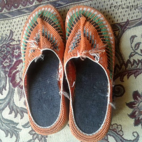 کفش سنتی گیوه دست دوز نو