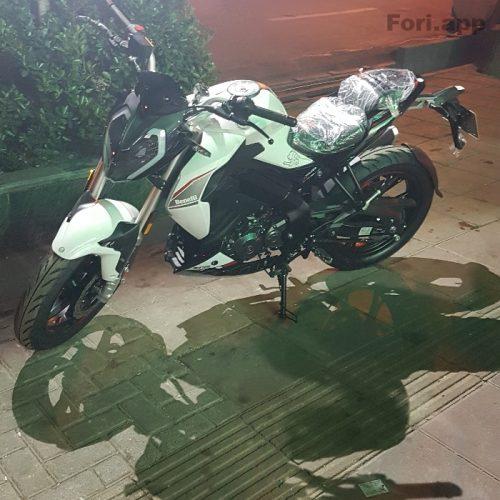 فروش  موتورسیکلت بنللی ۱۸۰Sسه شمع مدل ۹۹