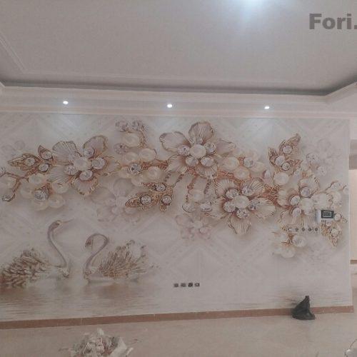 نقاشی ساختمان کاغذدیواری تمام نقاط
