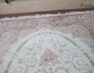 فرش ۹ متری گل برجسته
