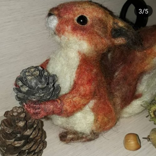 عروسک سنجاب کچه