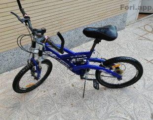 دوچرخه المپیا ۲۰.سالم. درحد نو.اصل. پرشی دارای کمک وسط دنده. کمک جلو. و…      .