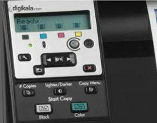 پرینتر  hp mfp 100 color 175nw لیزری رنگی چندکاره دارای پورت اتصال به اینترنت و دارای وایفا