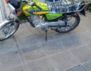 موتورتندرشهاب مدل۹۲مدارک تکمیل اماده بنام وبیمه یکسال