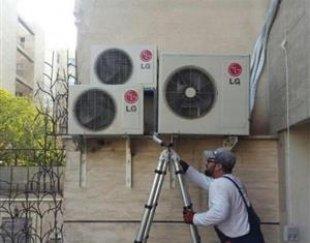 نصاب کولر گازی /نصب سرویس شارژ تعمیر لوله کشی