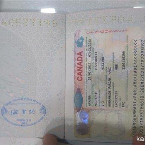 اخذ ویزا …. اروپا ، کانادا، آمریکا