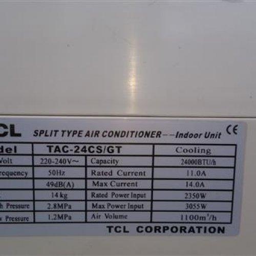 کولر گازی ۲۴۰۰۰ تی سی ال