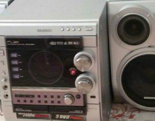 سیستم صوتی و پخش کننده سامسونگ