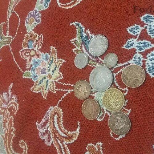 سکه های قدیمی فروش یا معاوضه باهرچی