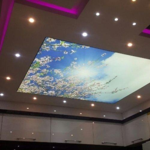 فروش عمده تایل کناف کاغذدیواری آسمان مجازی