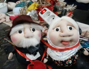 عروسک های کار دست