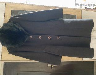 پالتو زنانه یقه خز دار قد ۱۰۳