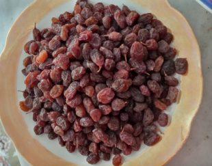 �روش  کشمش آ�تابی خشک و گوشتی تاکستان