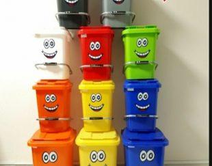 سطل زباله بهداشتی طرح ایموجی