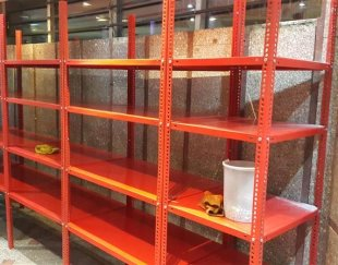 فروش و نصب قفسه های فلزی